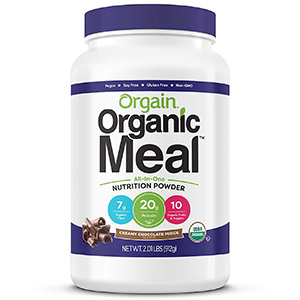 Orgain Organic Protein Powder Meal Replacement Shake